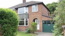 semi detached property to rent in Kayswood Road, Marple...