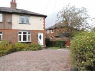 semi detached house in Turner Road, Marple...