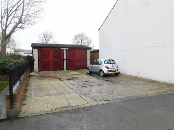 DRIVEWAY AND GARAGES