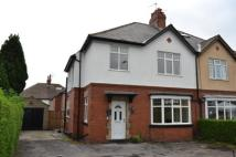 semi detached property in Skipton Road, Harrogate...