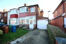 semi detached house in Wemborough Road...