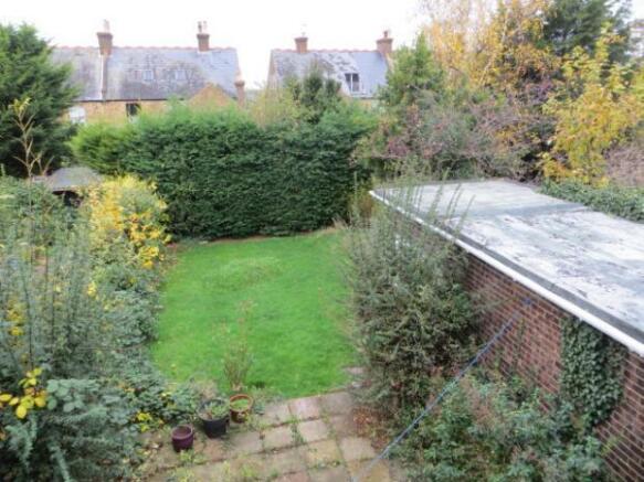 Tyndale Park rear garden