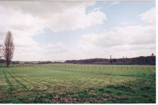 15 Acres of Post and Rail Fenced Paddock