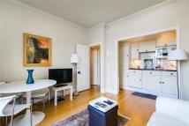 1 bed Flat to rent in Nevern Square...