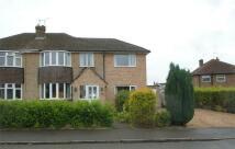 4 bedroom semi detached property for sale in Gregory Road, Barlestone...
