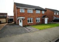 semi detached house in Spinney Drive, Barlestone