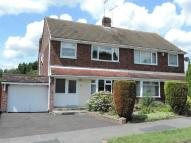 3 bed semi detached home for sale in Briar Close, Borrowash...