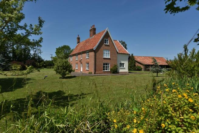 6 Bedroom Farm House For Sale In Huntingfield Nr Halesworth IP19