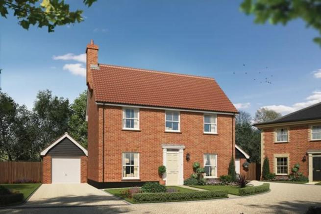 3 bedroom detached house for sale in leiston heritage
