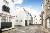 End of Terrace home to rent in Lyall Mews, Belgravia...