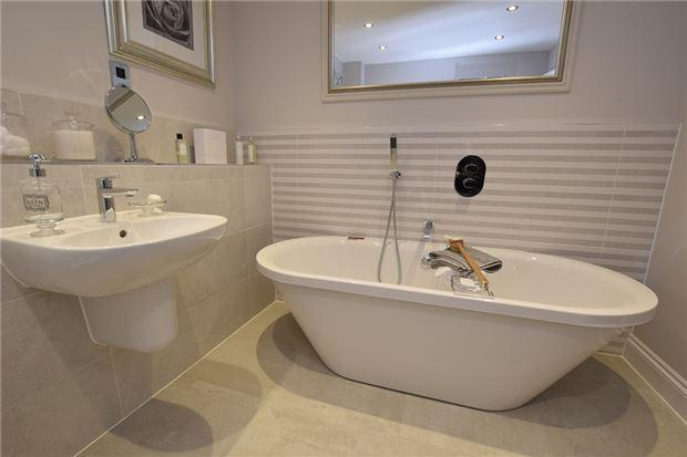 Family Bathroom Show Home