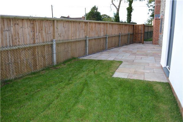 Rear garden example