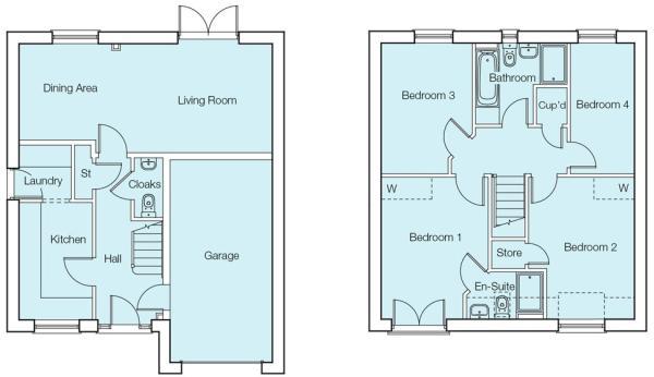 The Hannington Floorplans
