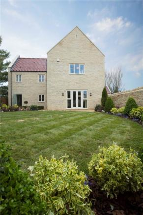 Rear garden and elevation