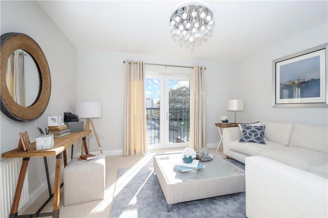 Similar previous showhome - Living Room/Bedroom