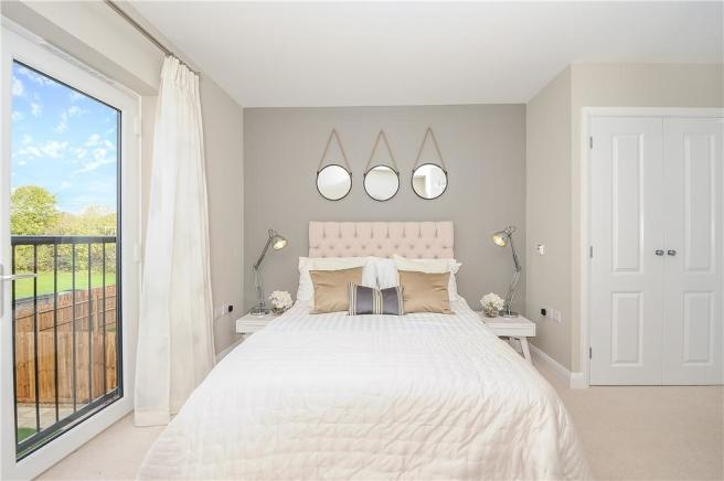 Similar previous showhome - Bedroom