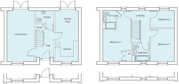 The Acacia Floorplans