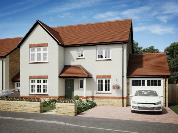 Alcombe house type- CGI