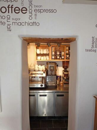 Tea/ Coffee Bar