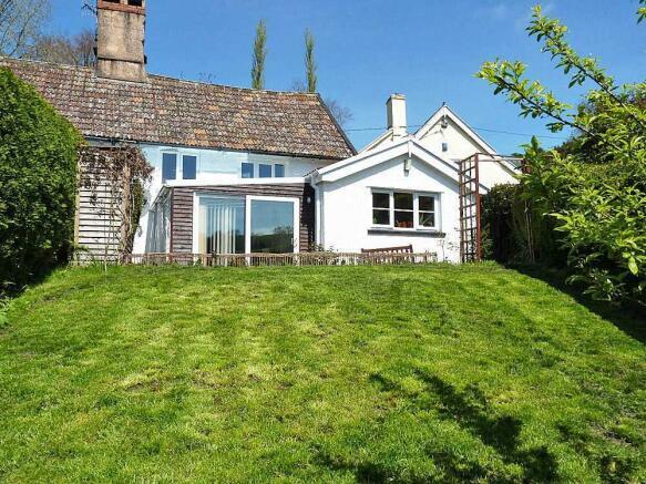 Ashcombe rear garden