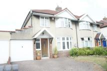 3 bed semi detached house in Kenmore Crescent...