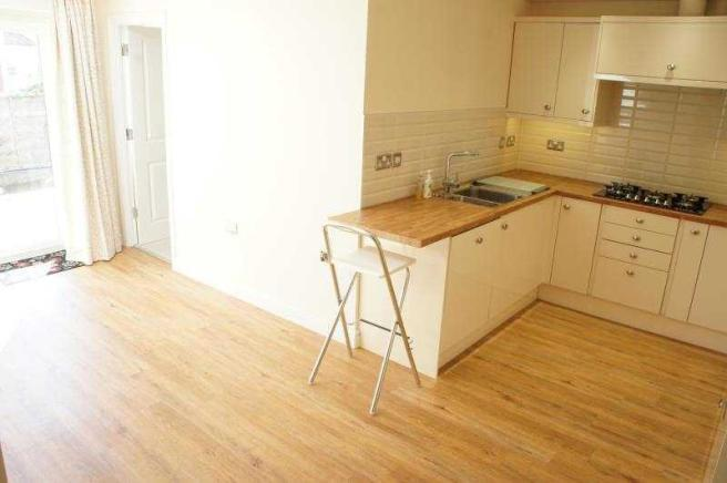 Kitchen/ living / dining
