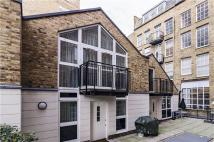 Mews in Lever Street, London...