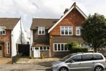 semi detached house in Alwyne Road, Wimbledon...