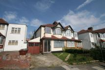 3 bedroom semi detached home in Cavendish Avenue, Harrow