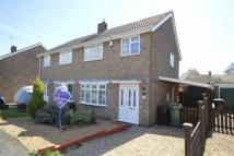 3 bed semi detached house in Cresswell Drive...