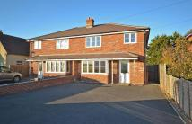 semi detached property in Ottery, Shopwhyke Road...