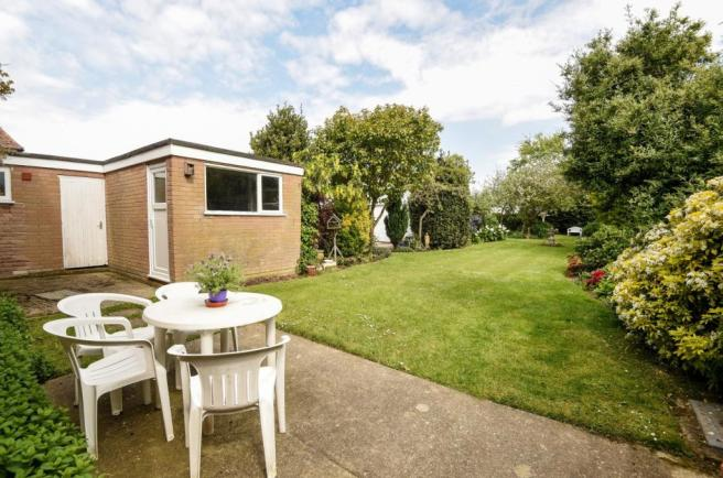 patio-rear garden