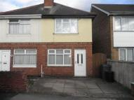 semi detached property to rent in Coppice Street, Tipton