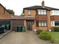 3 bedroom semi detached home to rent in Charlemont Avenue...