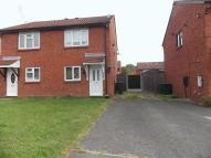 2 bedroom semi detached home in Lister Close, Tipton