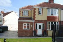 semi detached property in Cowley View Road...