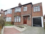 semi detached house for sale in Friarside Road, Fenham...