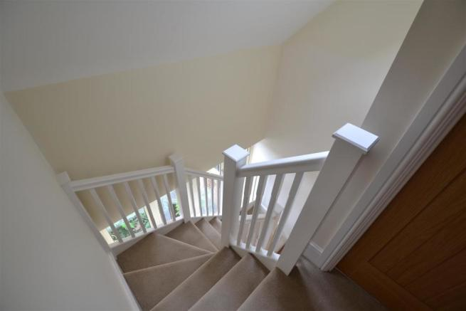 stairs to guest suit