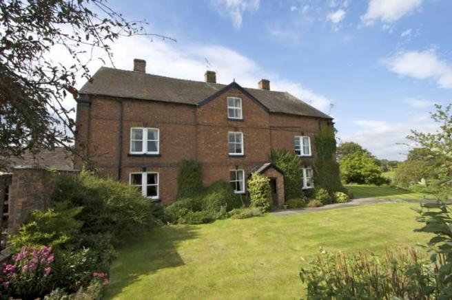 7 Bedroom Detached House For Sale In Church Minshull Nantwich