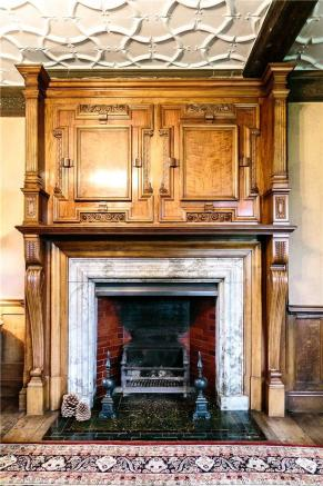 Drawing Room Fire