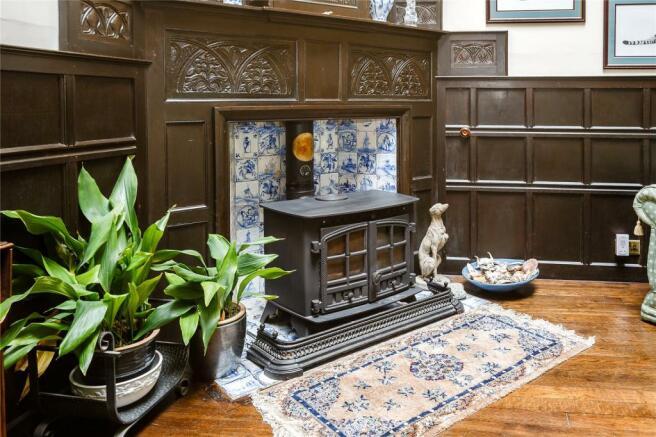 Atrium Fireplace
