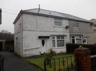 semi detached property for sale in 17 Pen Y Bont Terrace...