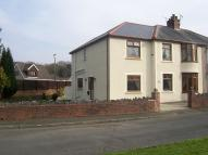 semi detached house in 195 Main Road Bryncoch ...