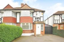 Beverley Way semi detached house to rent