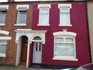 Terraced house in Euston Road, Northampton