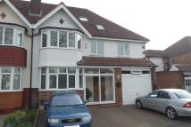 semi detached home for sale in Shirley Road, Birmingham...