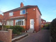 semi detached property in Bolus Lane Outwood