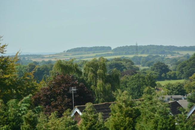 View towards Badbury Rings
