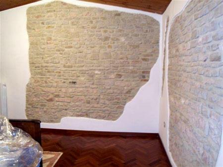 Bedroom walls detail