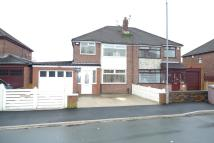 semi detached property for sale in Legh Road, Haydock...